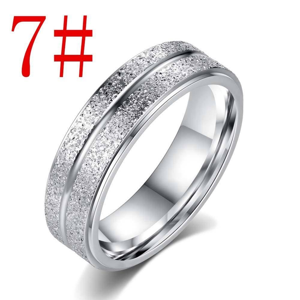 Silver Men's Wedding Ring Titanium Steel Single Classic Engagement With Regard To Spiritual Engagement Rings (View 11 of 15)