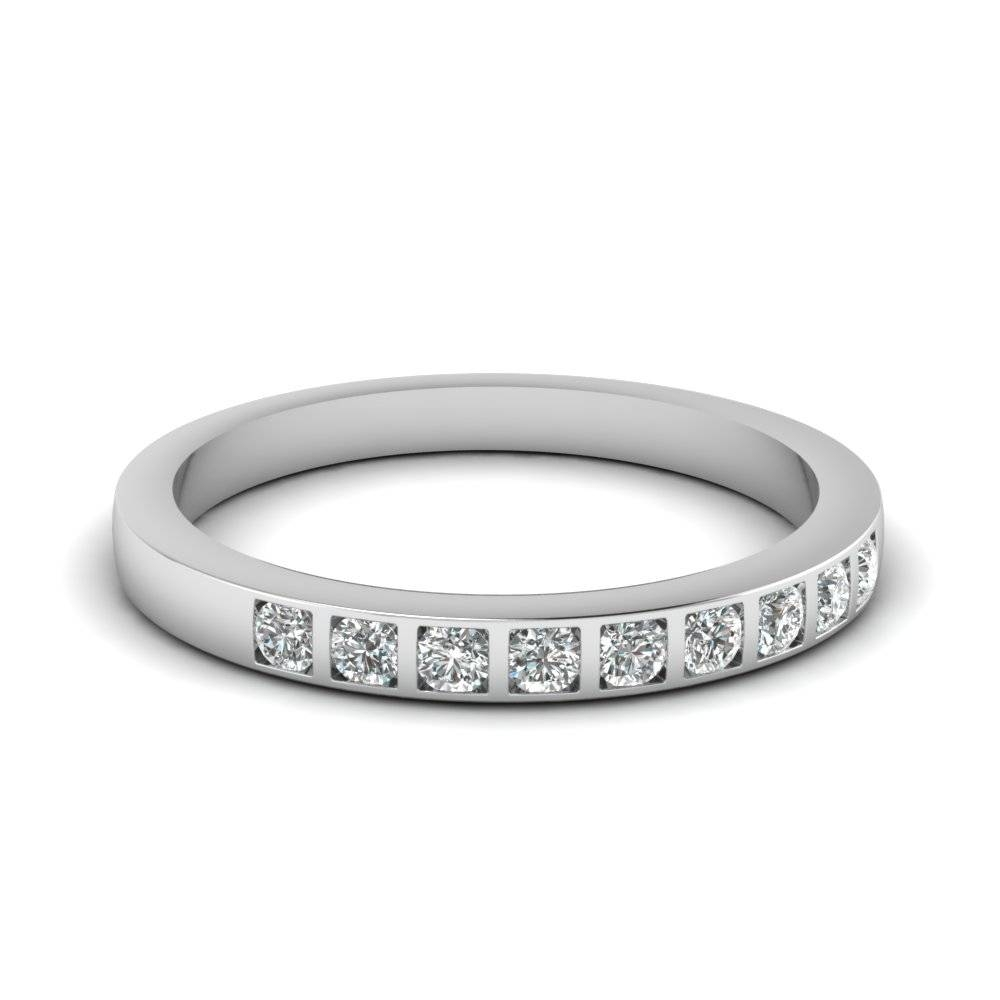 Silver Wedding Bands | Fascinating Diamonds Intended For Silver Wedding Bands For Her (View 15 of 15)
