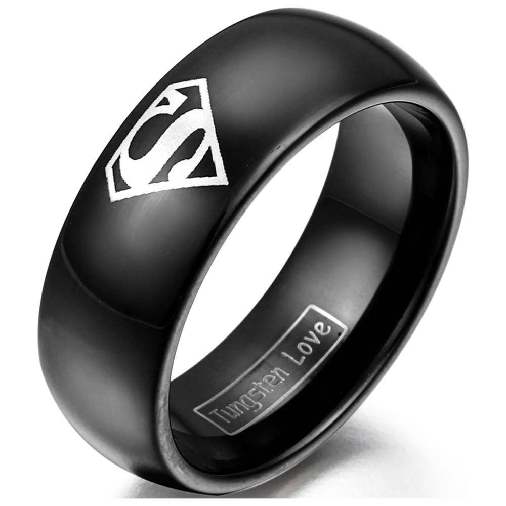 Silver Wedding Rings For Men | Eternity Jewelry Regarding Black And Silver Mens Wedding Rings (View 11 of 15)
