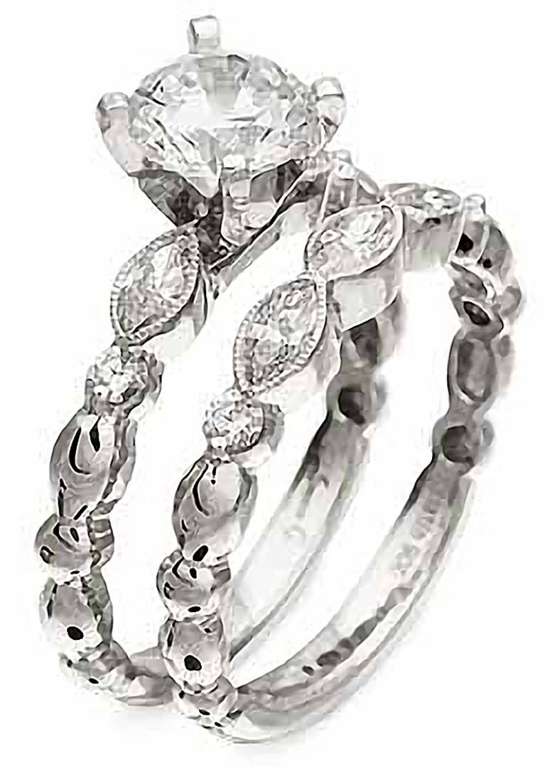 Simon G : Feminine Marquise Engagement Ring : Nr178 : Arden Jewelers With Regard To Feminine Engagement Rings (View 2 of 15)