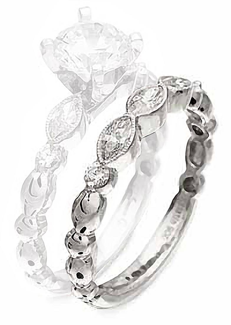 Simon G : Feminine Marquise Wedding Band : Nr178 B : Arden Jewelers With Regard To Marquis Wedding Bands (View 14 of 15)