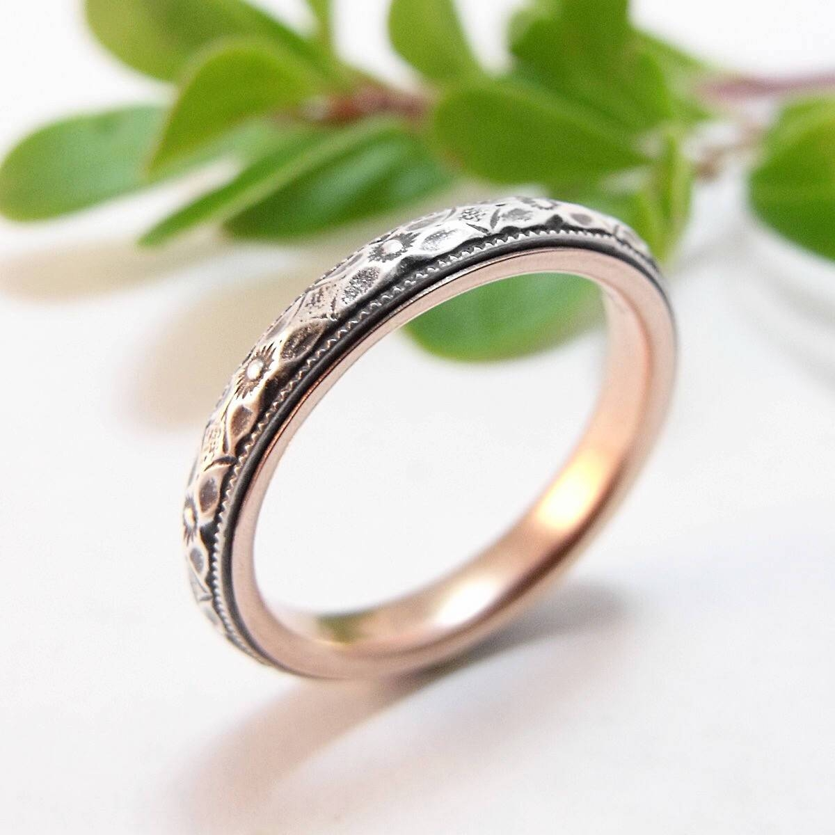 Skinny Wedding Band Womens Wedding Band Sterling Silver Throughout Skinny Wedding Bands (View 9 of 15)