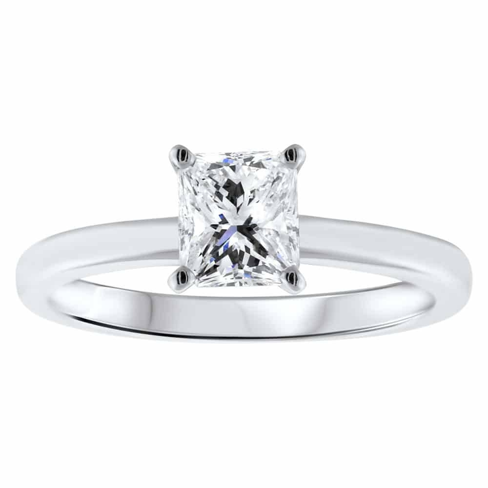 Solitaire Engagement Ring With  (View 12 of 15)