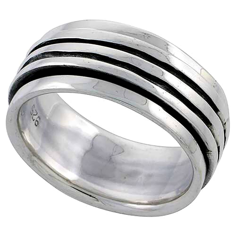 Spinner Rings Inside Men's Spinner Wedding Bands (View 13 of 15)