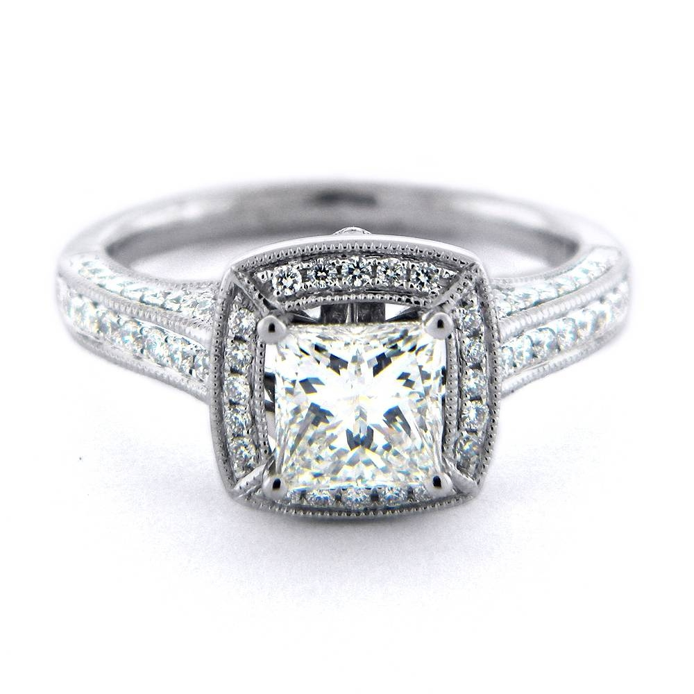 Square Antique Diamond Rings | Wedding, Promise, Diamond Intended For Antique Diamond Wedding Rings (View 13 of 15)