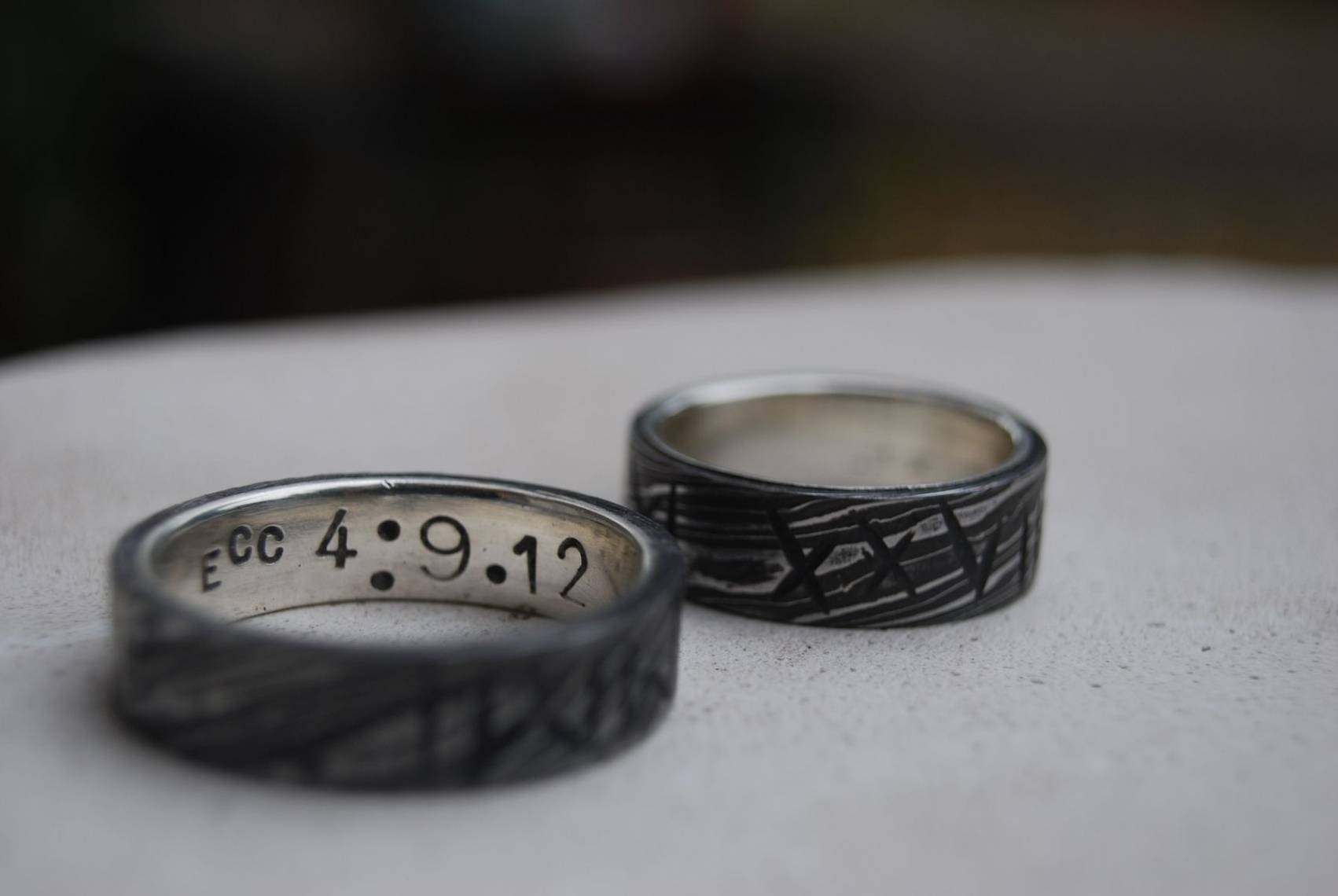 Stainless Steel Rings | Steel Bands | Custommade With Outdoorsman Throughout Outdoorsman Wedding Bands (View 15 of 15)