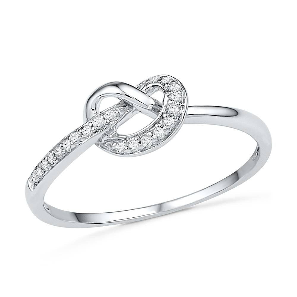 Featured Photo of Knot Engagement Rings