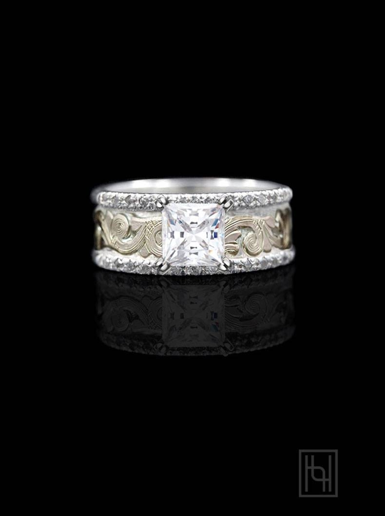 Sterling Silver Rings | Western Rings, Engagement Rings | Hyo Silver Regarding Western Engraved Wedding Rings (View 7 of 15)