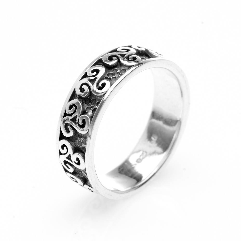"Stunning 925 Hallmark Sterling Silver Scottish ""celtic Multi Throughout Scottish Celtic Engagement Rings (View 10 of 15)"