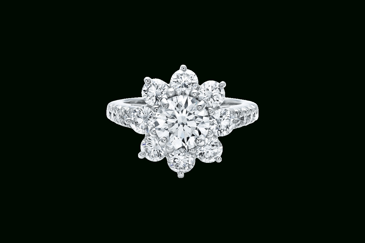 Sunflowerharry Winston | Harry Winston Throughout Harry Winston Engagement Rings (View 11 of 15)