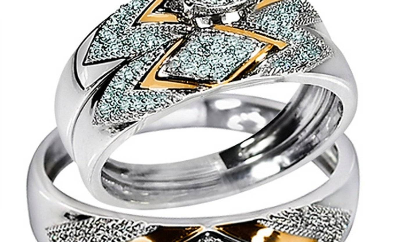 Superior Impression Wedding Rings Tiffany Gold In The Wedding Regarding Kohls Wedding Bands (View 9 of 15)