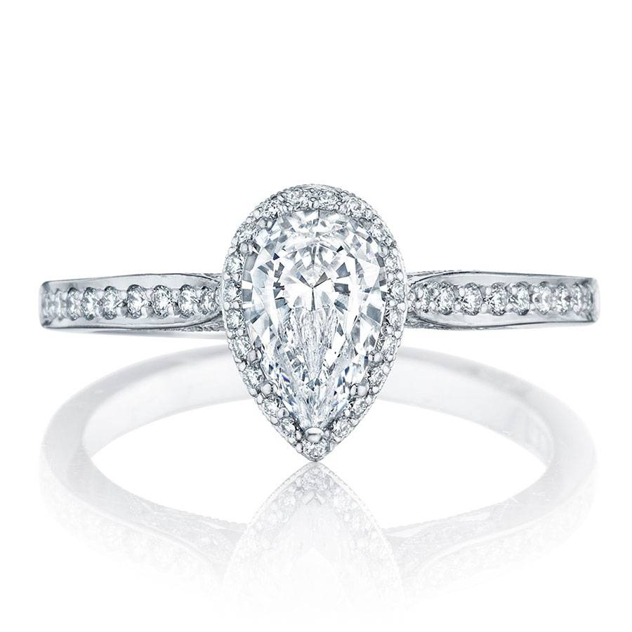 Tacori Engagement Rings Dantela Pear Shape Setting  (View 13 of 15)