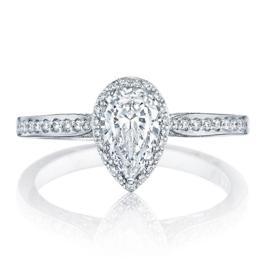 Tacori Engagement Rings Dantela Pear Shape Setting  (View 14 of 15)