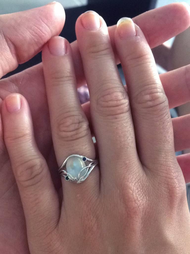 Takayas Custom Jewelry — Blog Within Elvish Engagement Rings (Gallery 10 of 15)