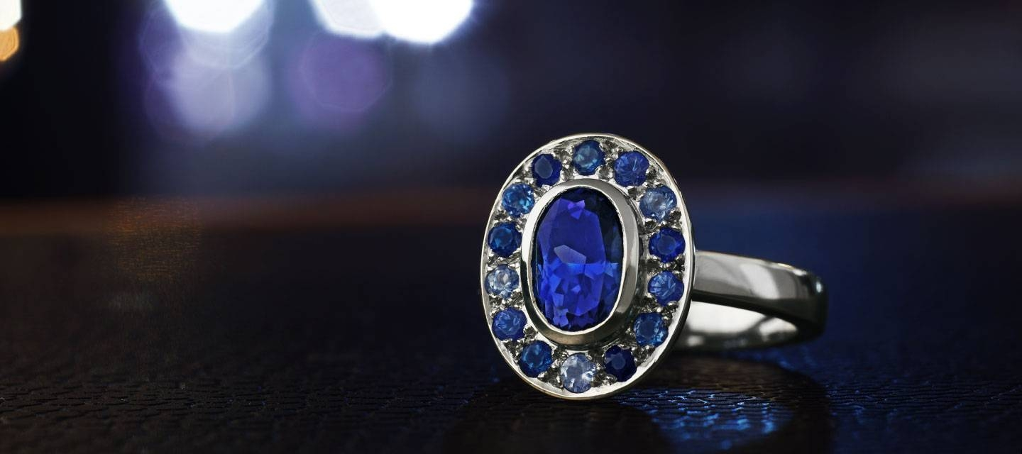 Tanzanite Engagement Rings Information | Harriet Kelsall For Tanzanite Engagement (View 13 of 15)
