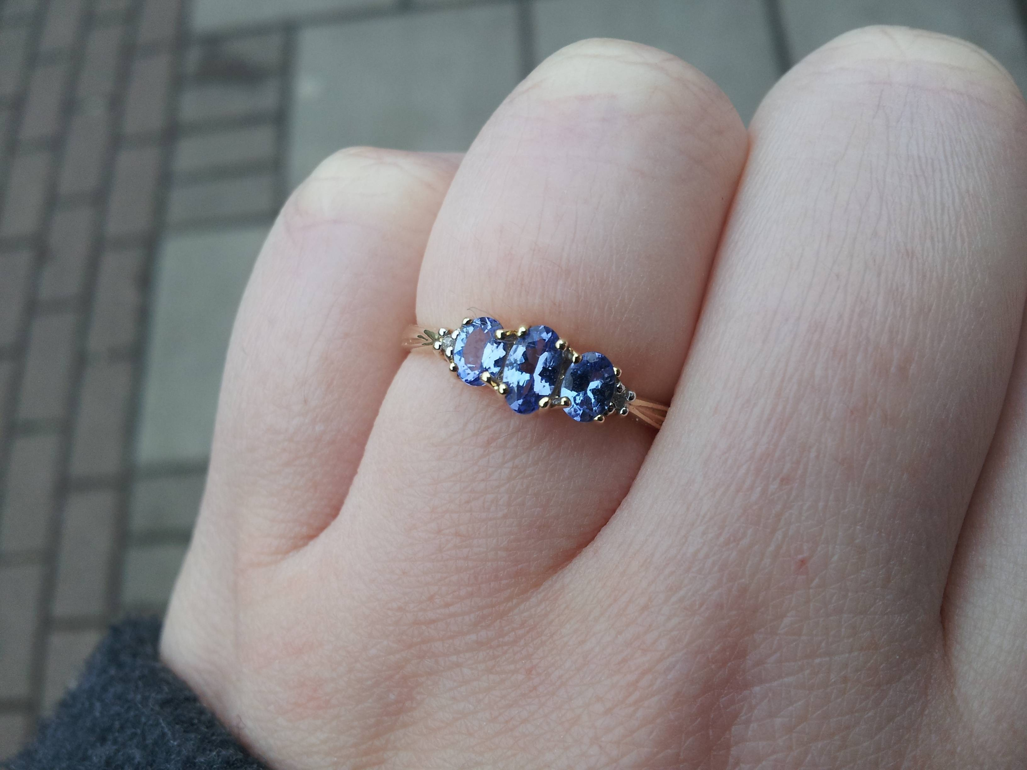 Tanzanite Engagement Rings? Share Pictures Please! Or Gemstones With Tanzanite Engagement (View 14 of 15)
