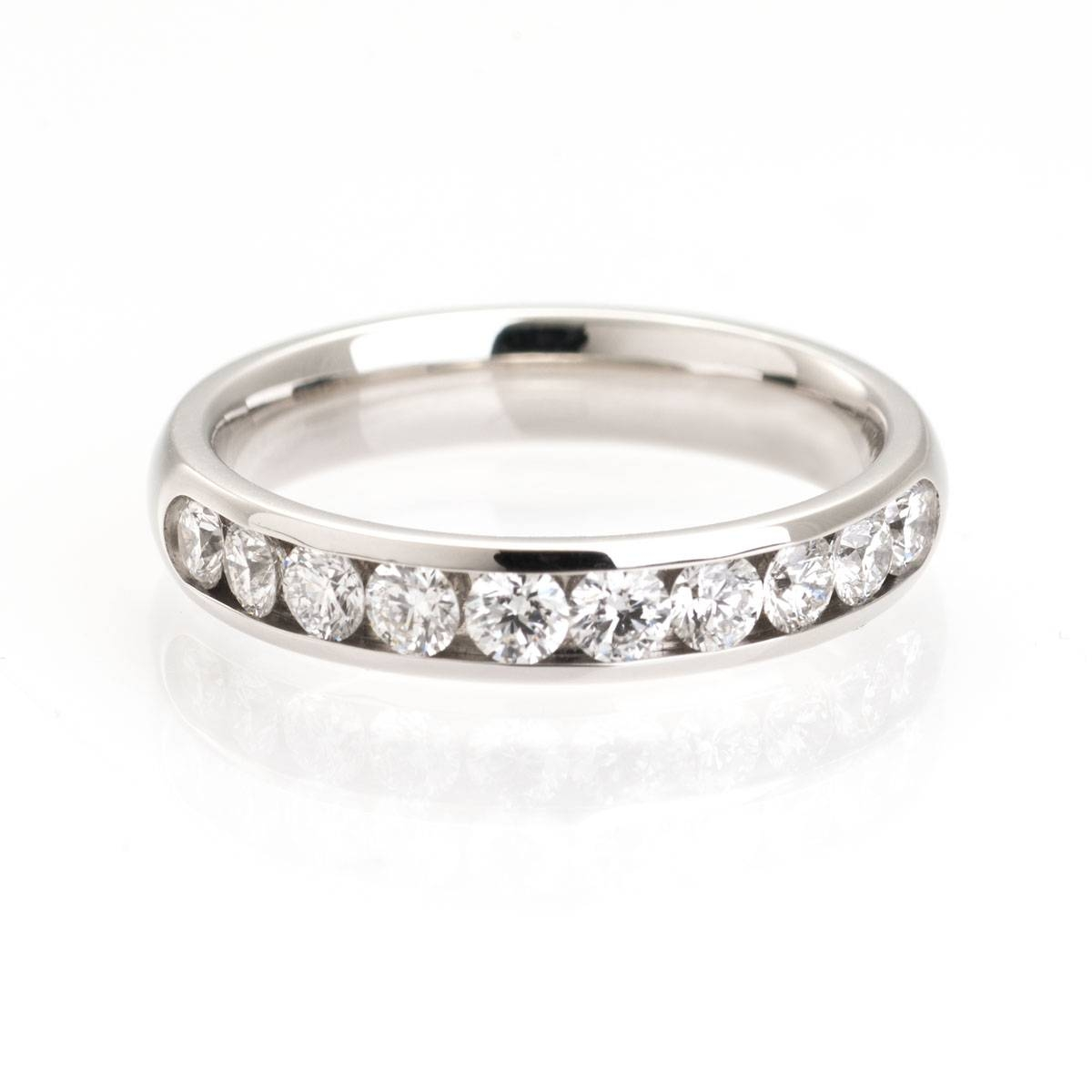 Ten Diamond | Wedding Ring | Mitchel & Co Throughout Infinity Wedding Rings (Gallery 3 of 15)
