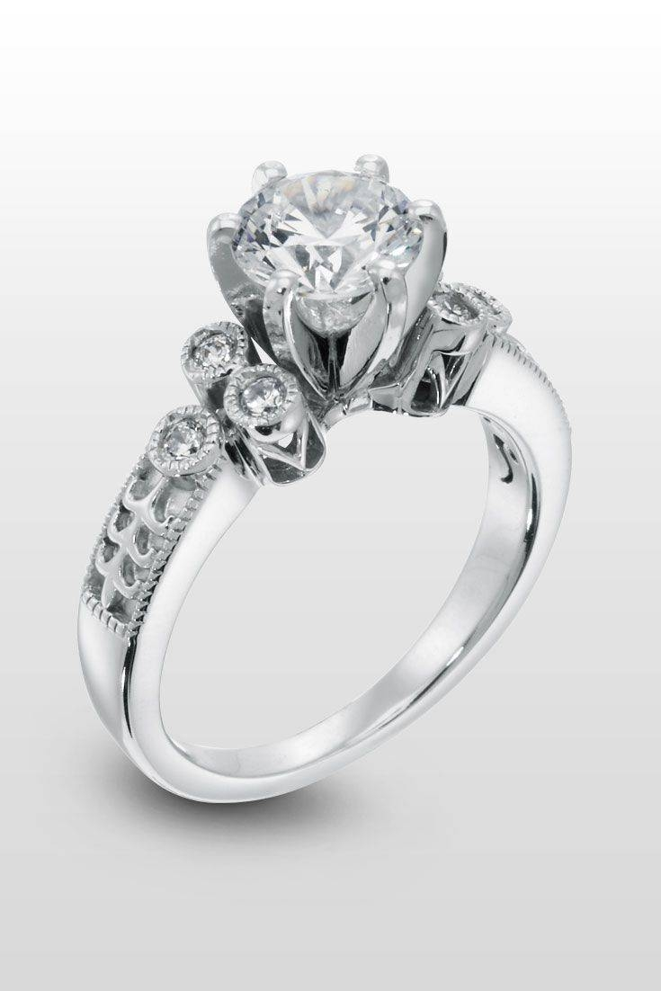 The 25+ Best Intricate Engagement Ring Ideas On Pinterest Within Intricate Engagement Rings (View 14 of 15)