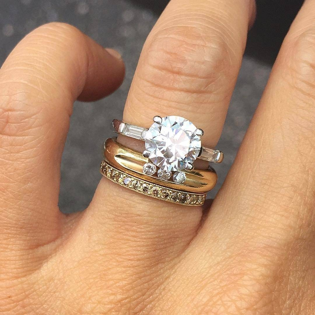 The Best Wedding And Engagement Rings To Mix And Stack – Vogue Intended For Engagement Marriage Rings (Gallery 8 of 15)