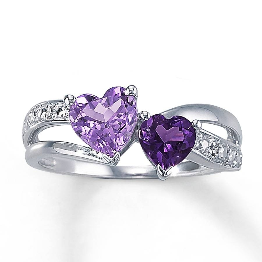 The Most Unique Black And Purple Wedding Rings Set For Couples With Regard To Purple Wedding Bands (View 14 of 20)