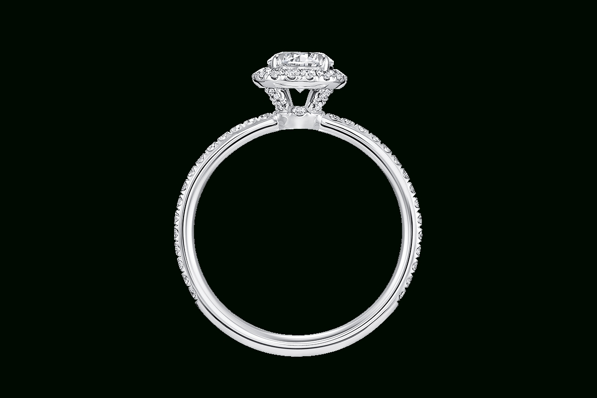 The One Round Brilliant Engagement Ring | Harry Winston Intended For Harry Winston Micropave Engagement Rings (View 13 of 15)
