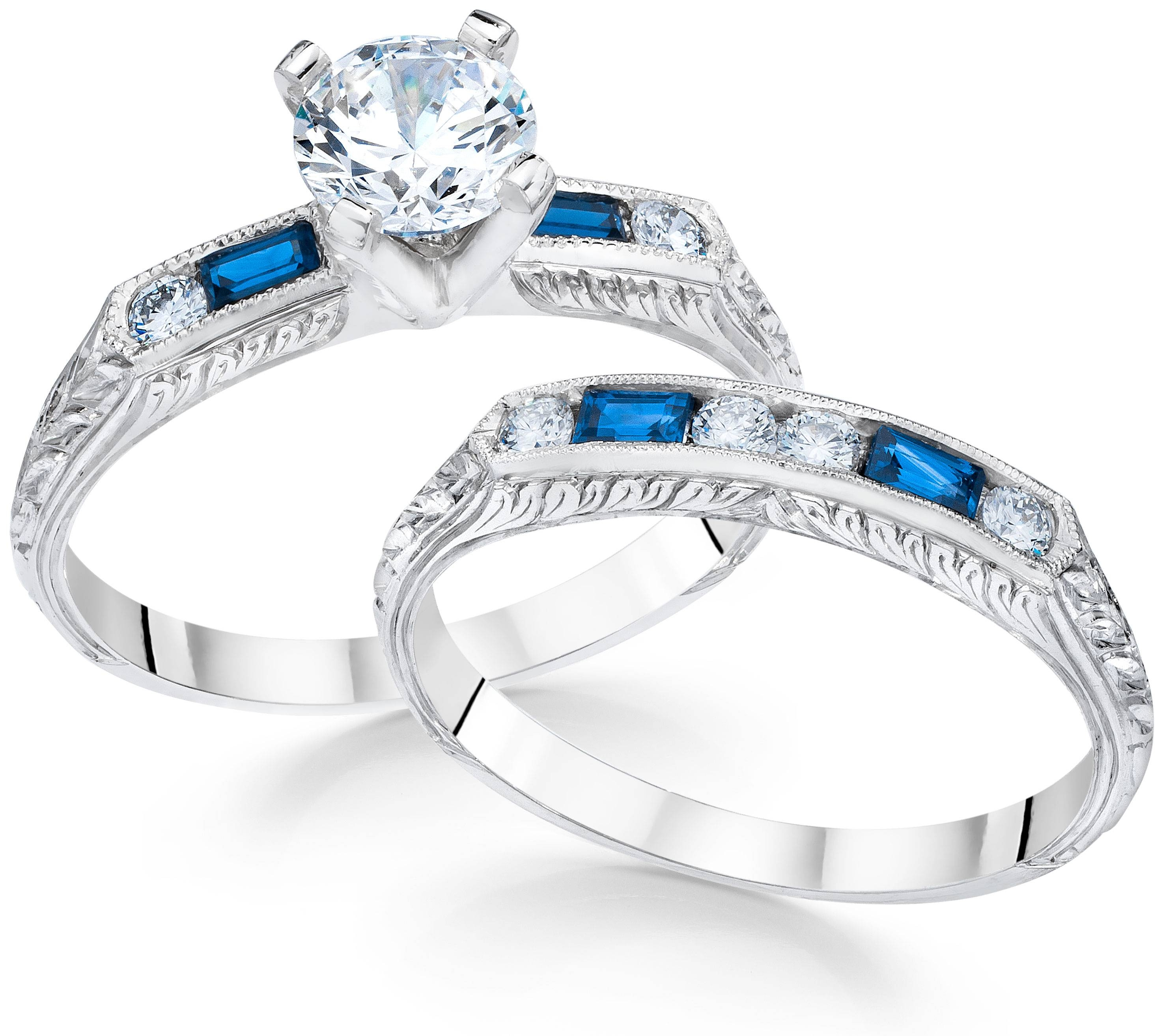 The Perfect Pair: 9 Ideal Engagement Ring & Wedding Band For Engagement Rings Pair (View 14 of 15)