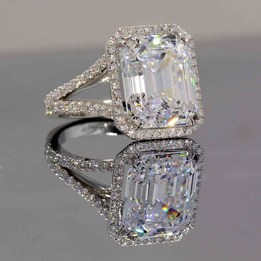 The Power And Beauty Of Cz Engagement Rings | Winkcz With Cz Diamond Wedding Rings (View 2 of 15)