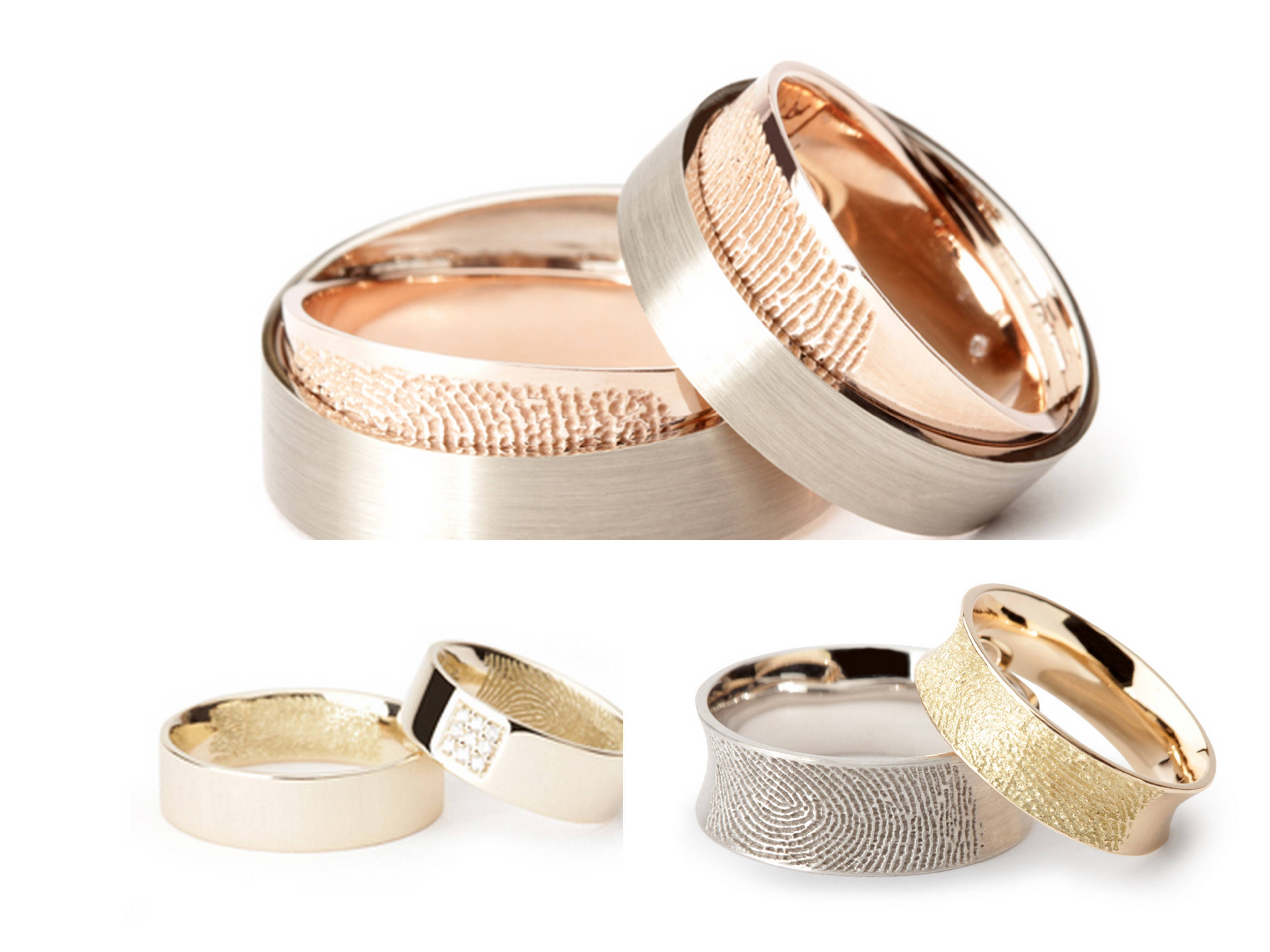 The Rings Please – Aislinn Events Throughout Wedding Rings With Fingerprint (View 14 of 15)
