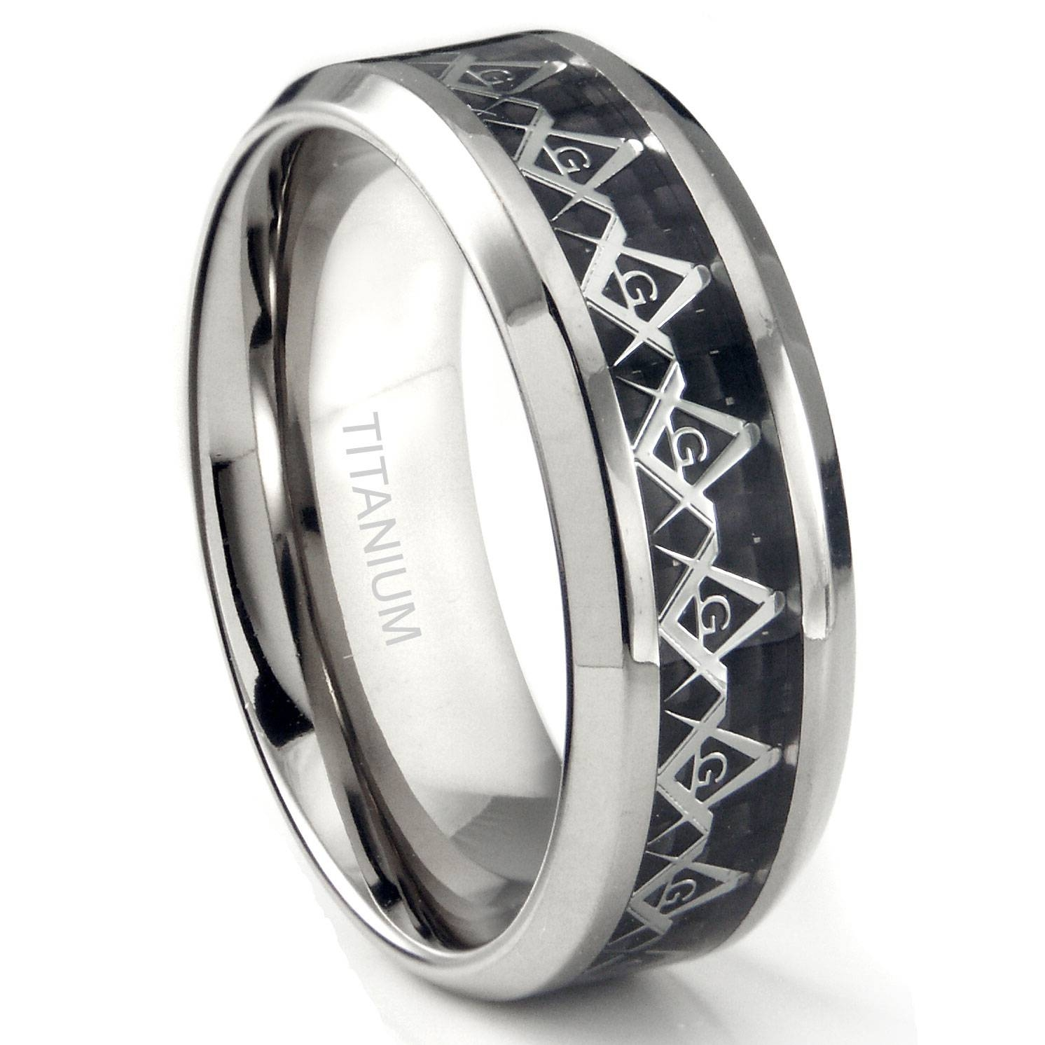 Featured Photo of Masonic Wedding Bands