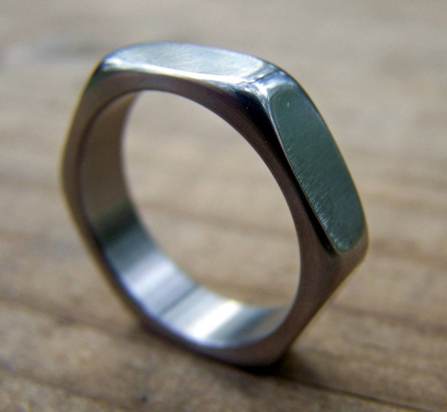 Titanium Ring, Wedding Ring, Mens Ring, Womens Ring, Mens Wedding Within Handmade Mens Wedding Rings (View 12 of 15)