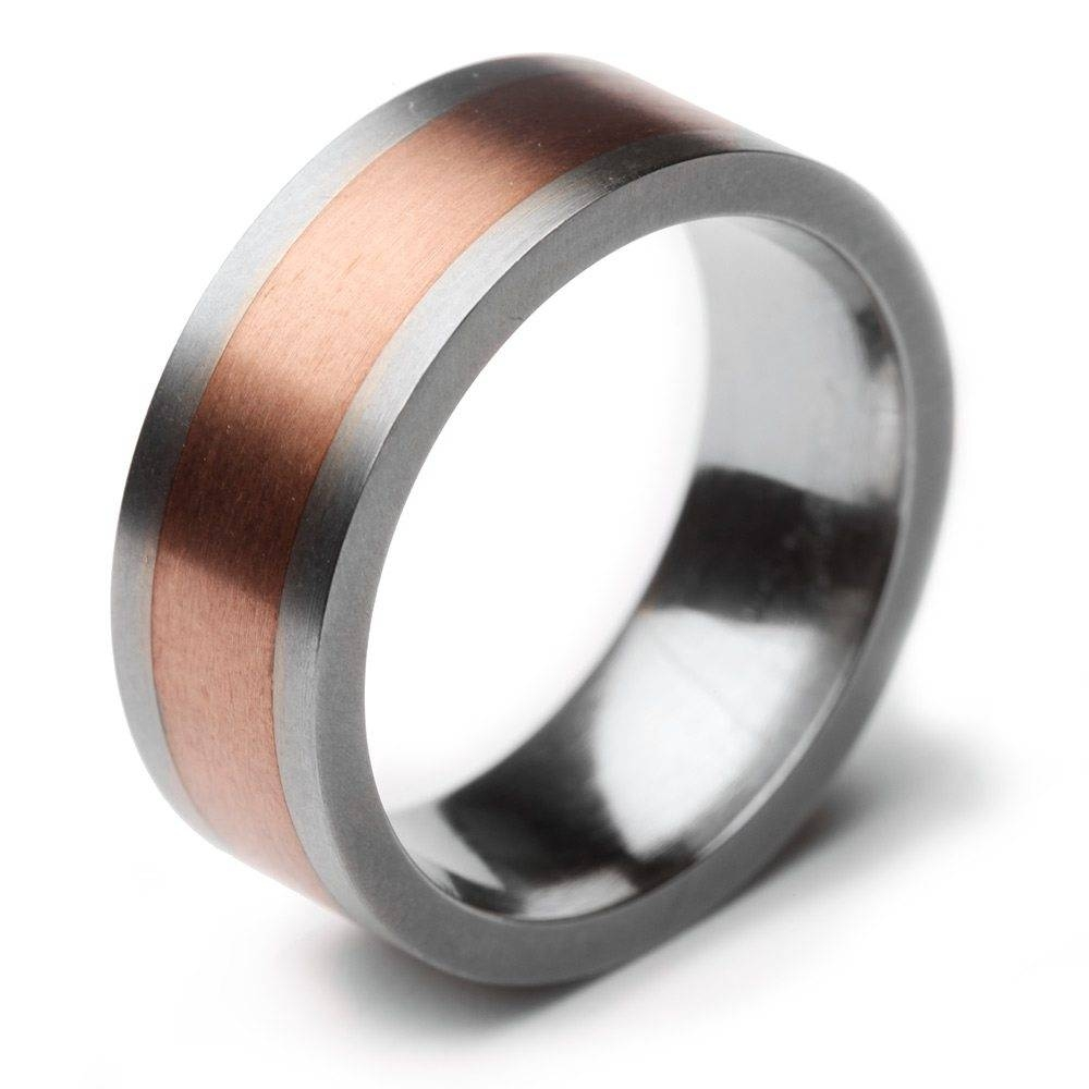 Titanium Wedding Rings – Element Jewellery Pertaining To Masculine Wedding Rings (View 14 of 15)