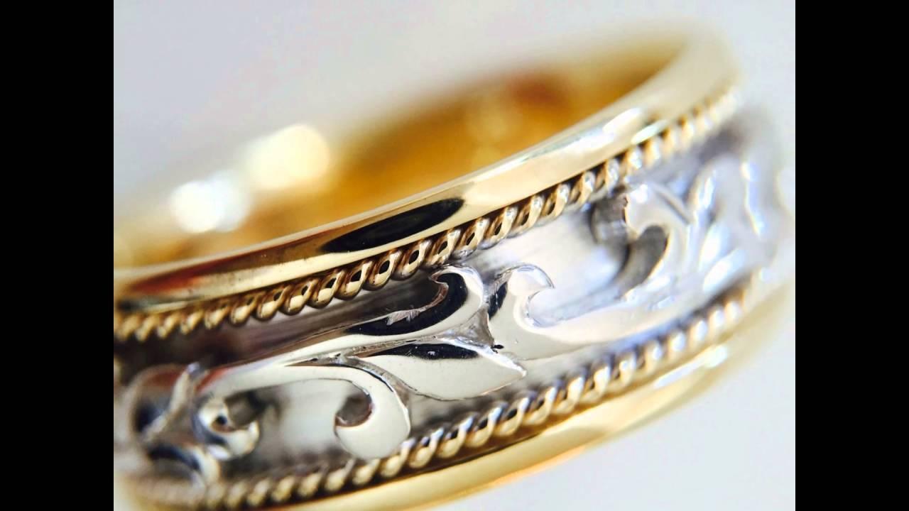 Top 10 Celtic Knot Rings, Wedding Ring, Men's Women 14K Gold Bands Regarding Mens Scottish Wedding Bands (View 12 of 15)