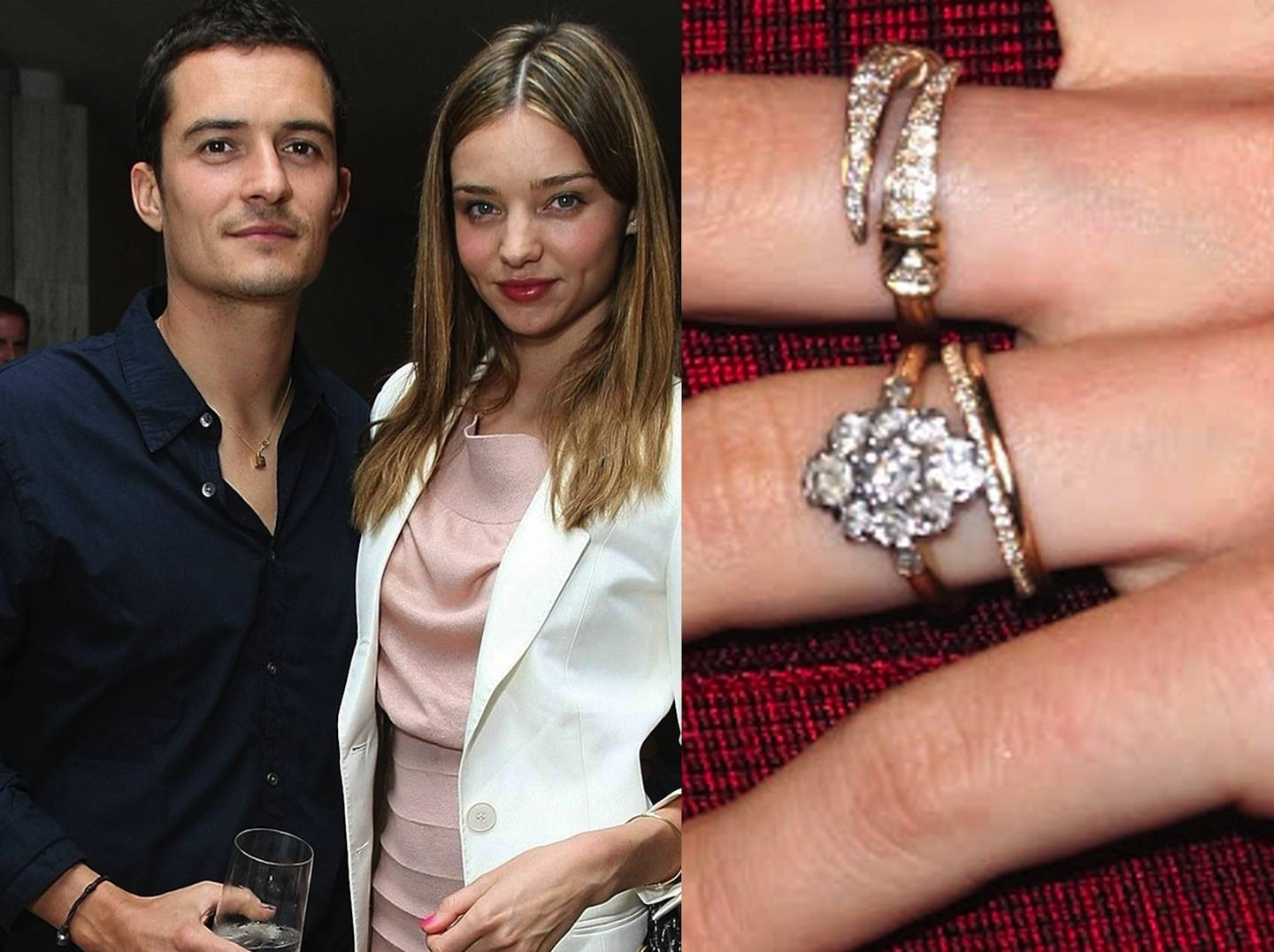 Top 20 Most Exclusive Unconventional Celebrity Engagement Rings In Behati Prinsloo Wedding Rings (View 14 of 15)