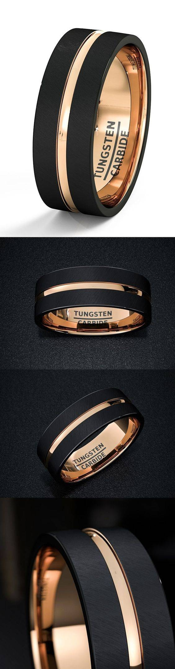 Top 25+ Best Men Wedding Rings Ideas On Pinterest | Tungsten Mens Pertaining To Funky Mens Wedding Rings (View 10 of 15)