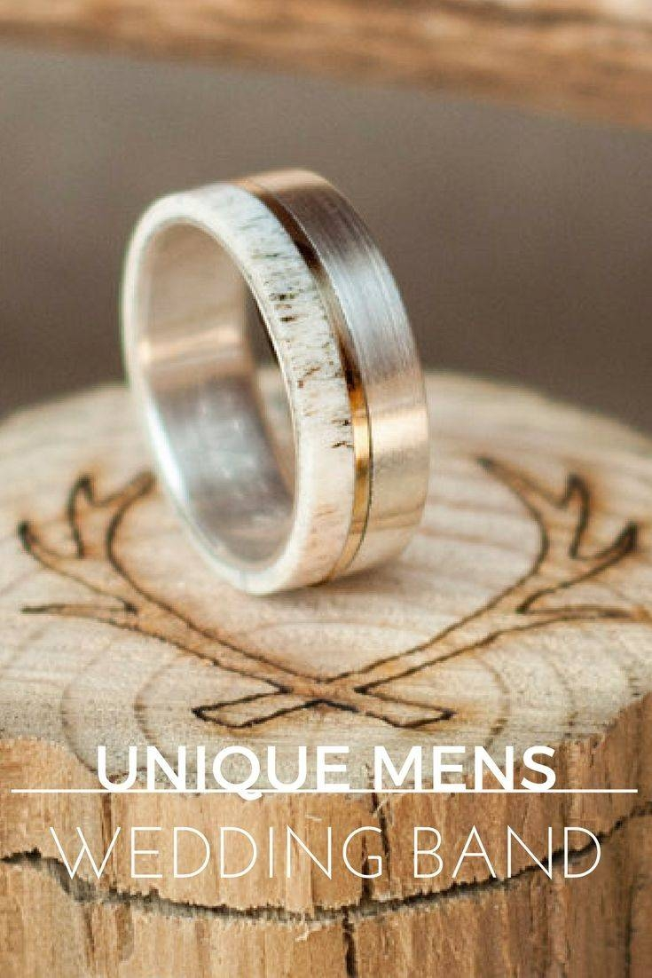 Top 25+ Best Men Wedding Rings Ideas On Pinterest | Tungsten Mens Pertaining To Funky Mens Wedding Rings (Gallery 3 of 15)