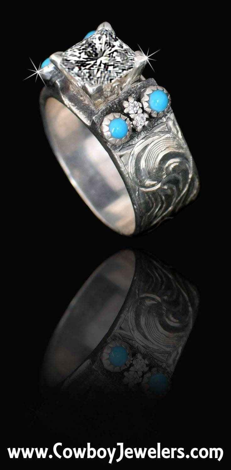 Top 25+ Best Western Wedding Rings Ideas On Pinterest | Western Within Cowboy Wedding Bands (View 12 of 15)