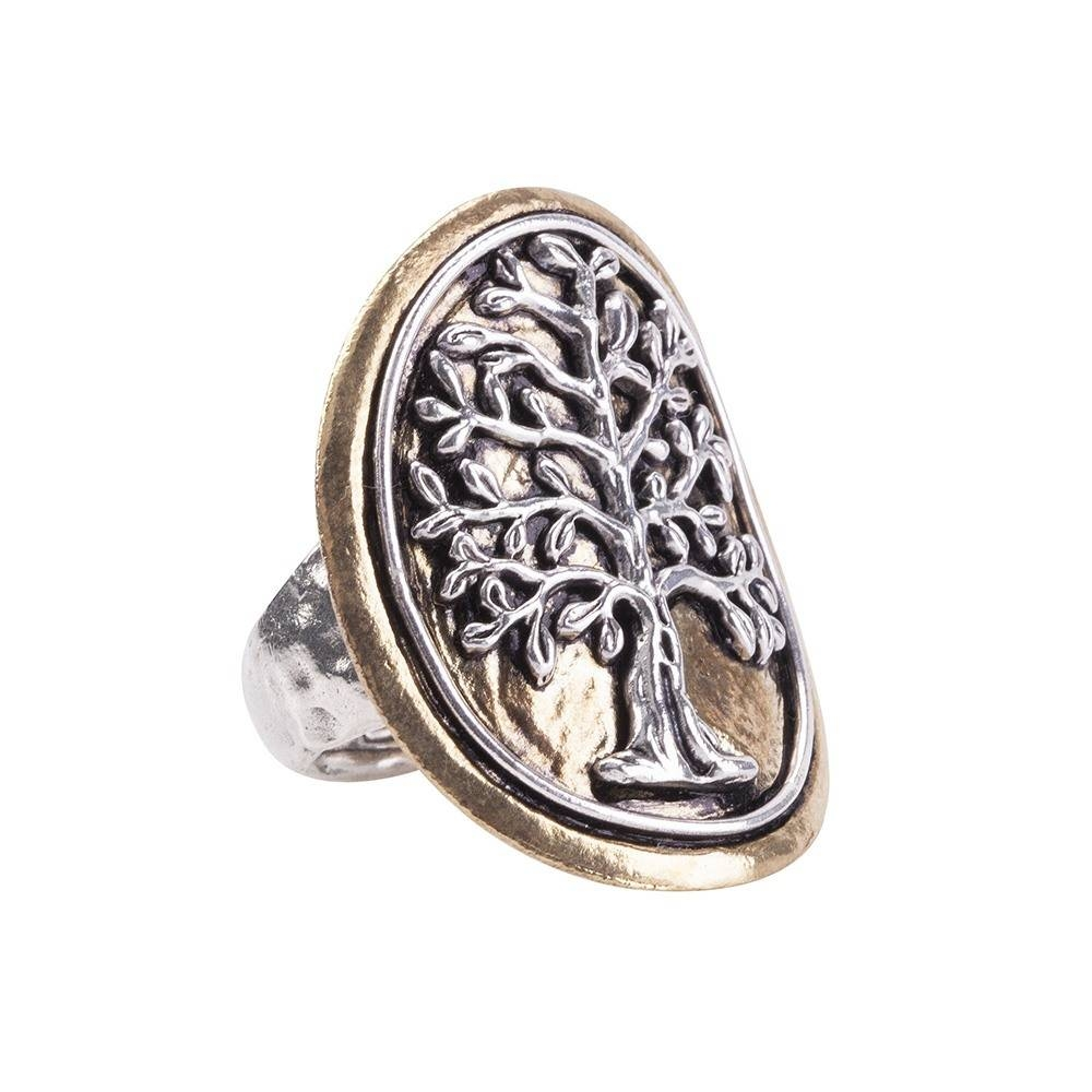 Tree Of Life Medallion Ring | Waxing Poetic With Tree Of Life Engagement Rings (View 13 of 15)