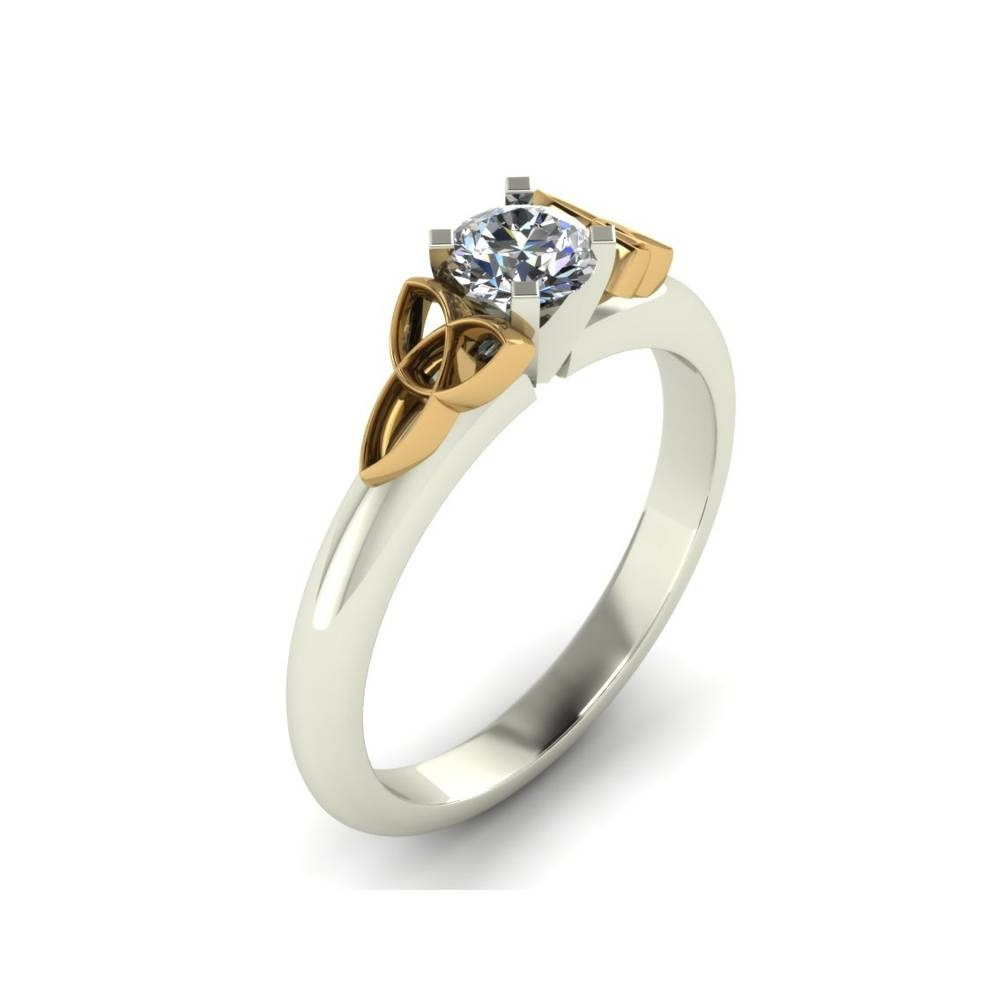 Trinity Knot Custom Engagement Ring – The Goldsmiths Ltd (View 8 of 15)
