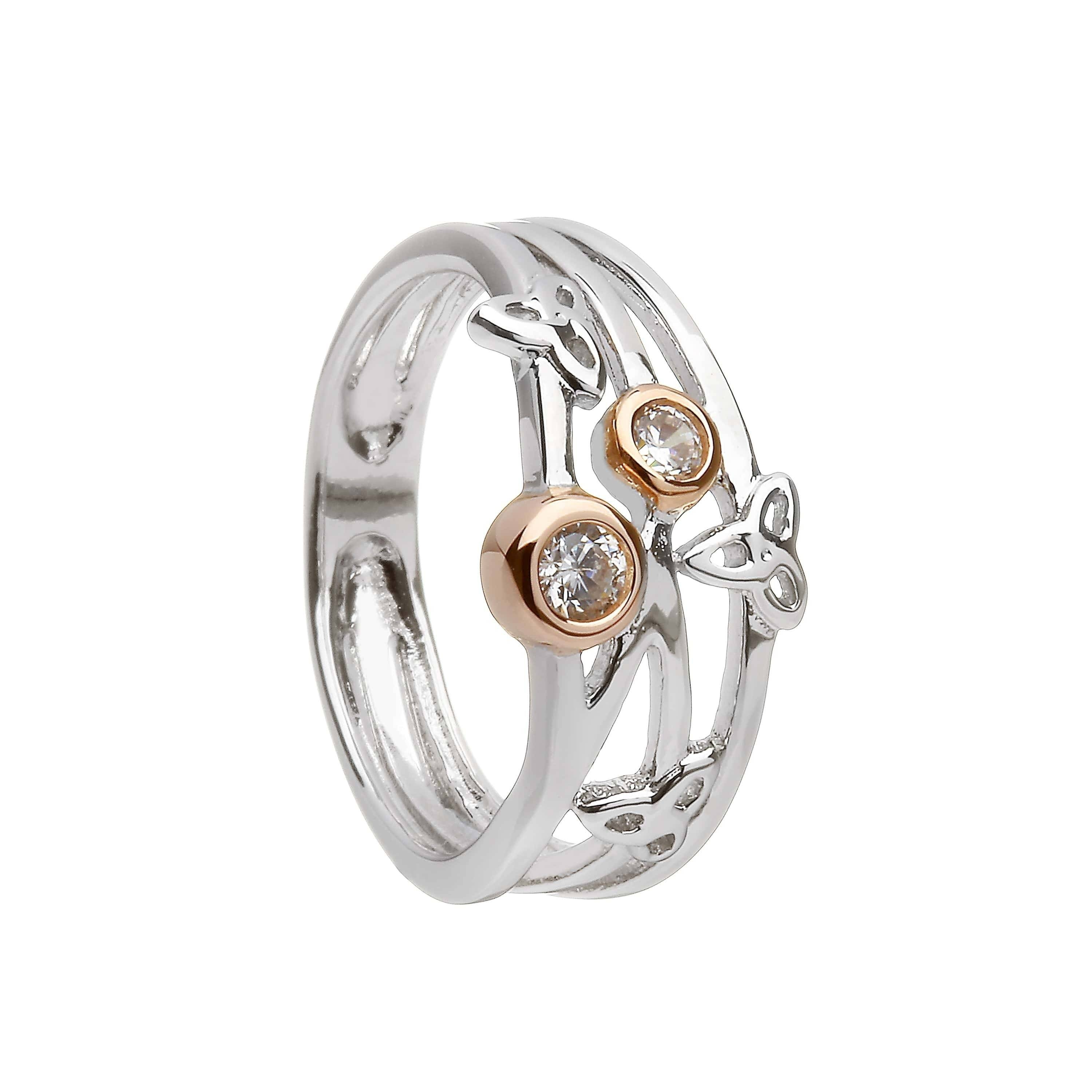 Trinity Knot Irish Ring | Claddagh Jewellers In Trinity Knot Engagement Rings (View 15 of 15)