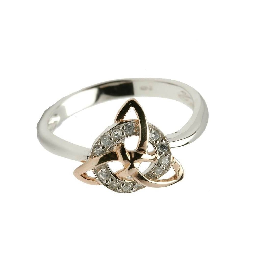Trinity Knot Ring – € (View 9 of 15)