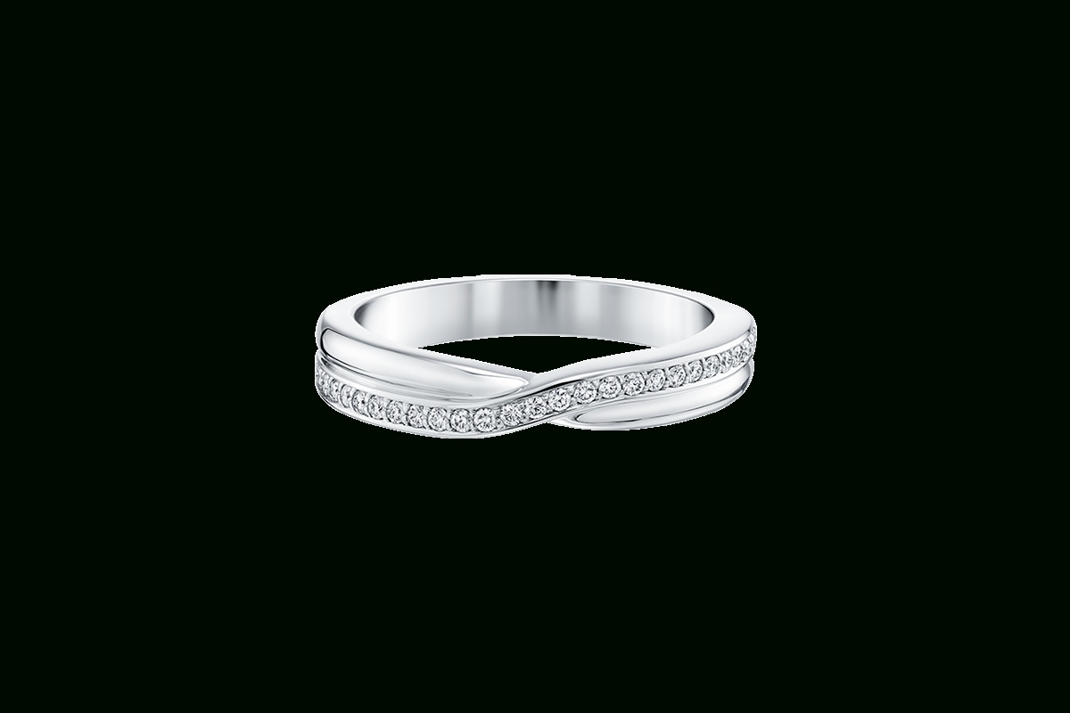 Tryst Micropavé Diamond Wedding Band | Harry Winston Within Harry Winston Men Wedding Bands (View 11 of 15)