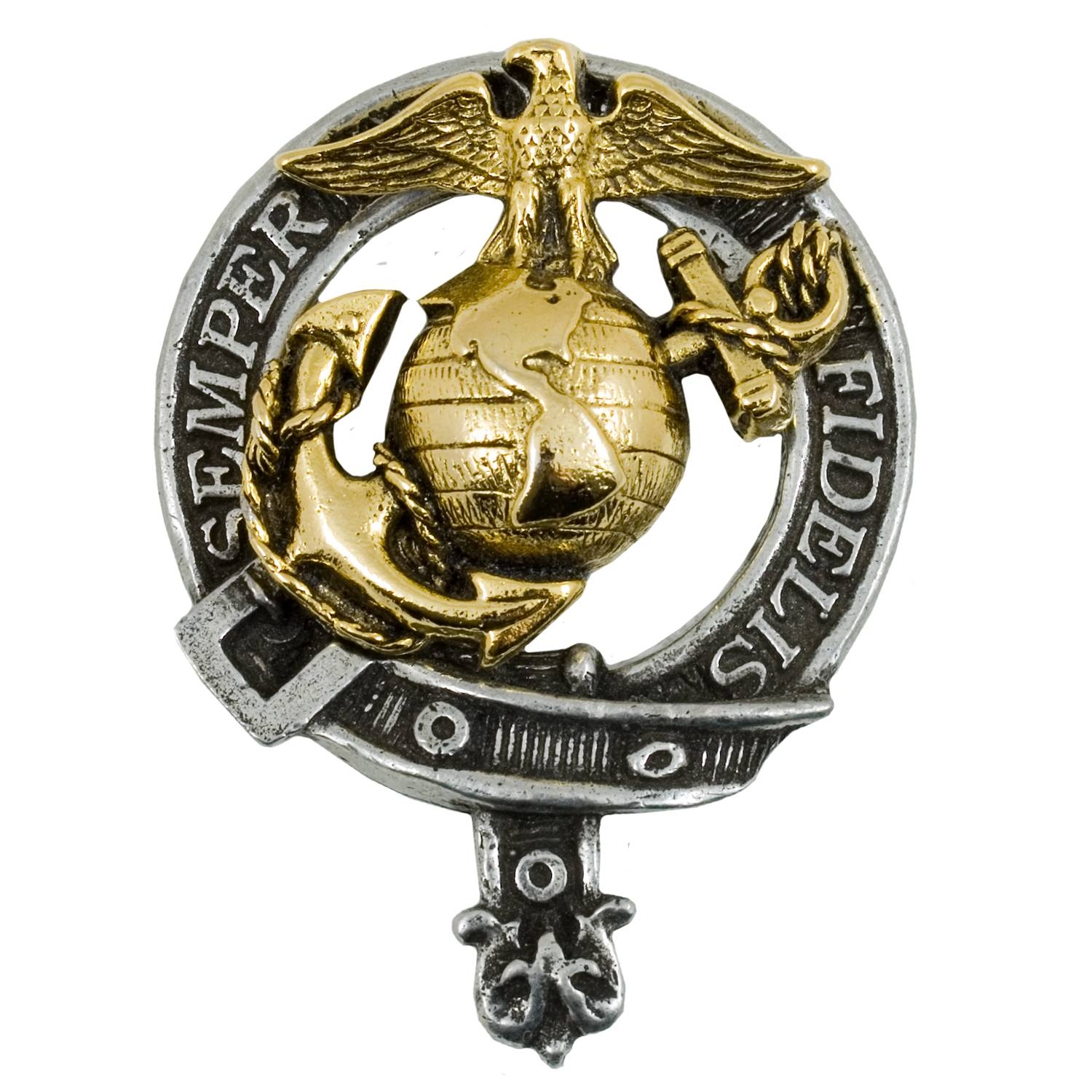 U.s. Marine Corps Kilts & Tartans, Marine Corps Cap Badges Regarding Usmc Wedding Bands (Gallery 14 of 15)