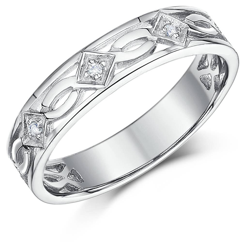 Unique Celtic Wedding Rings And Gaelic Engagement And Wedding Bands In Gaelic Engagement Rings (View 7 of 15)