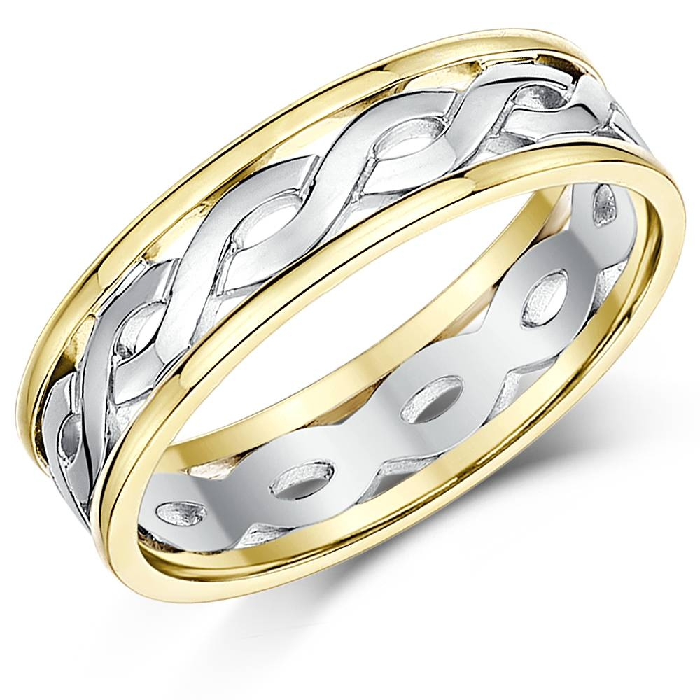Unique Celtic Wedding Rings And Gaelic Engagement And Wedding Bands Pertaining To Celtic Style Engagement Rings (View 8 of 15)