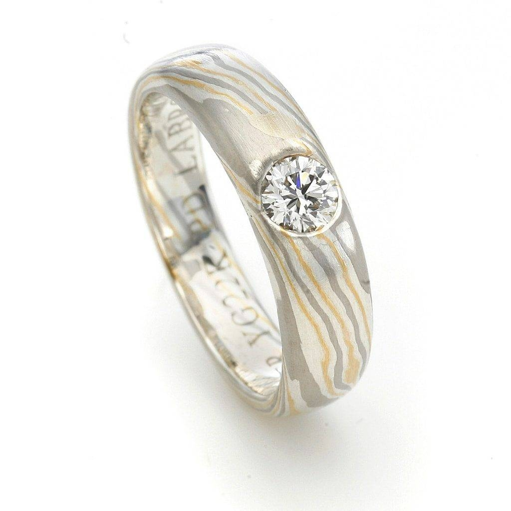 Unique Engagement Rings: Bridal Ring Designs | Jaume Labro In Mokume Gane Engagement Rings (View 11 of 15)