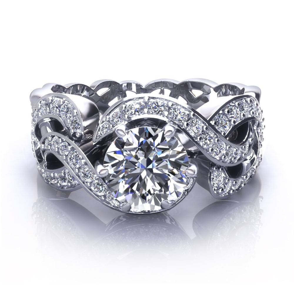 Unique Engagement Rings | Wedding, Promise, Diamond, Engagement In Unusual Diamond Wedding Rings (View 14 of 15)