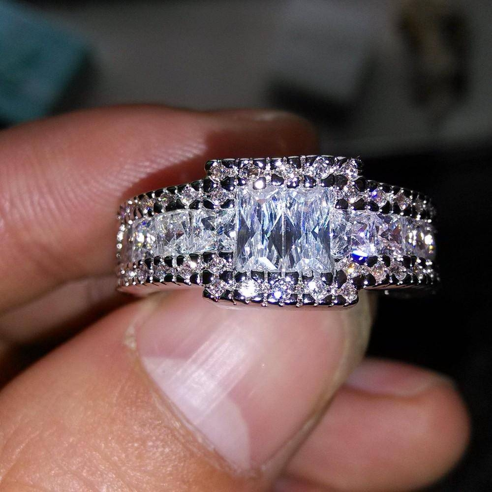 Valuable Inspiration Qvc Wedding Rings – Wedding Ideas For Diamonique Wedding Bands (View 5 of 15)
