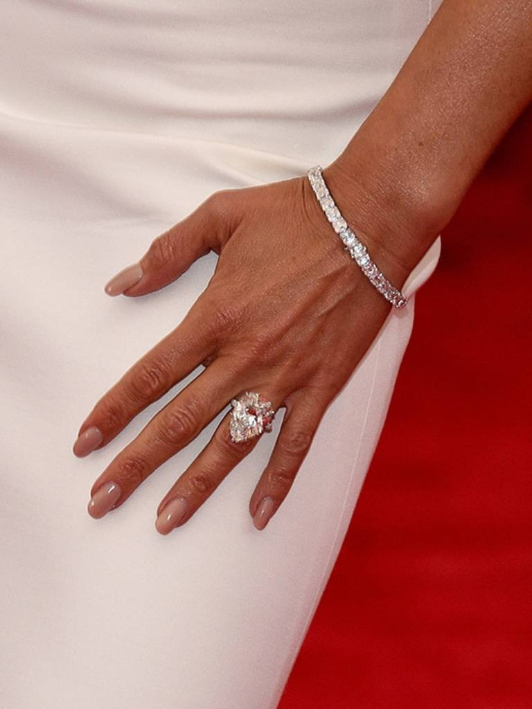 Victoria Beckham's Engagement Ring Collection Within Victoria Beckham Wedding Rings (Gallery 1 of 14)