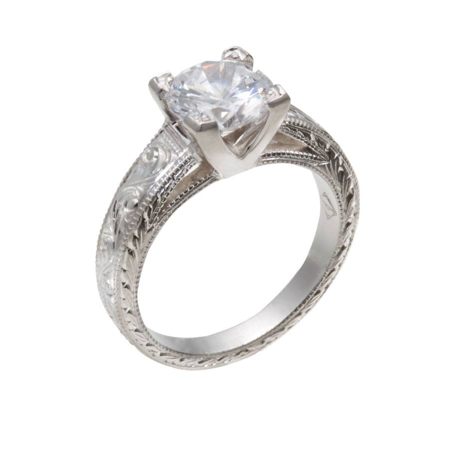 Vintage Engagement Rings Chicago – Christopher Duquet Fine Jewelry Intended For Chicago Wedding Rings (Gallery 6 of 15)