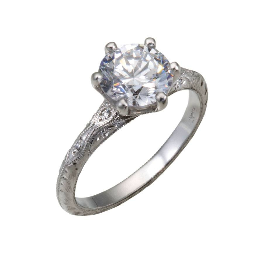 Vintage Engagement Rings Chicago – Christopher Duquet Fine Jewelry Throughout Chicago Wedding Rings (Gallery 2 of 15)